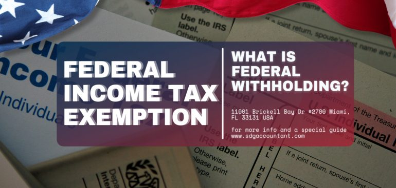 Exempt from Federal Tax Withholding