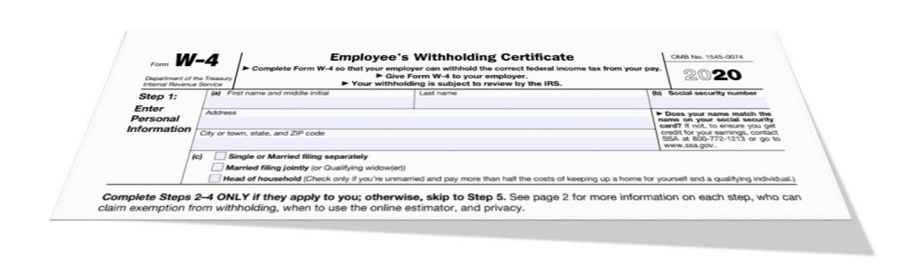 Federal Tax Withholding Exemption